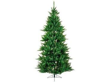 Künstlicher Weihnachtsbaum 152 cm Grün mit Ständer