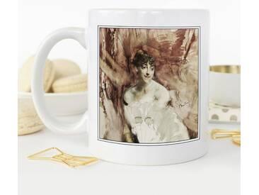 Kaffeetasse Giovanni Boldini Woman with a Fan