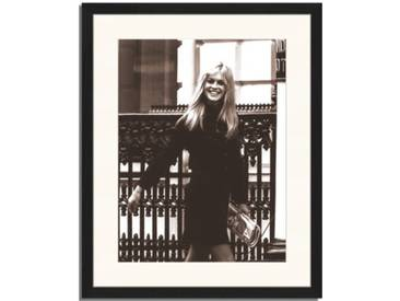 Gerahmtes Poster Brigitte Bardot in London