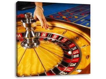 LeinwandbildRoulette Tisch in Las Vegas
