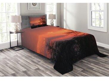 Tagesdecken-Set Pontmain African mit passender Kissenhülle