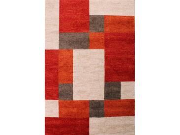 Teppich Bali in Rot/Beige