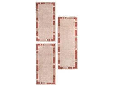 Bettumrandung Sera in Beige/Terrakotta