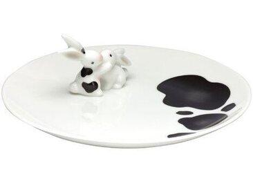 """Porzellanteller """"Cow Bunny"""""""