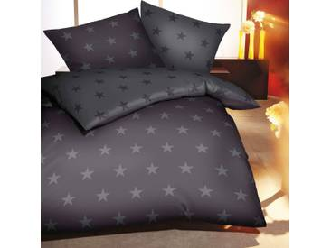 Satin-Wendebettwäsche Stars