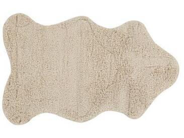 Handgewebter Innenteppich Berber in Creme