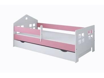 Funktionsbett Christiana mit Matratze und Schublade