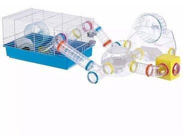 Hamsterkäfig Crystal mit Laufrad