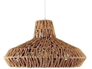35,5 cm Lampenschirm für Pendelleuchten aus Seil