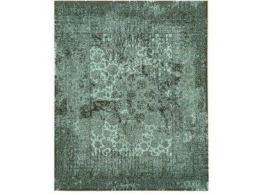 Handgefertigter Innen/Außenteppich Amatury in Grün