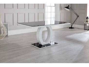 Ramsel High Gloss Glass Dining Table