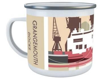 Kaffeetasse Grangemouth Docks, Scotland