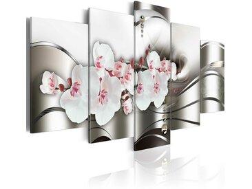 5-tlg. Leinwandbilder-Set Die Schönheit der Orchideen