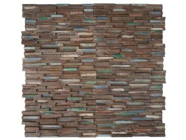 20 cm x 55 cm Mosaikfliesen-Set Valencia aus Holz