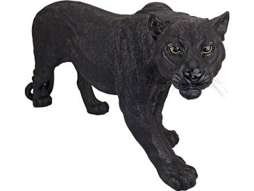 Statue Panther Dunkles Raubtier