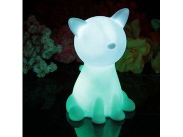 LED-Nachtlicht Katze