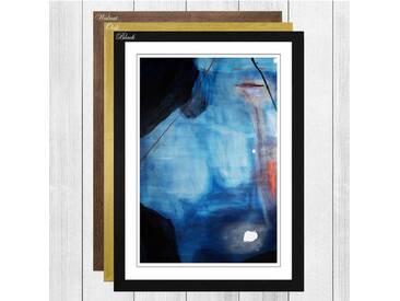 """Gerahmtes Poster """"Painting von Mary Abbott, Kunstdruck"""