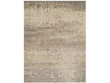 Teppich Abbott in Creme/Braun