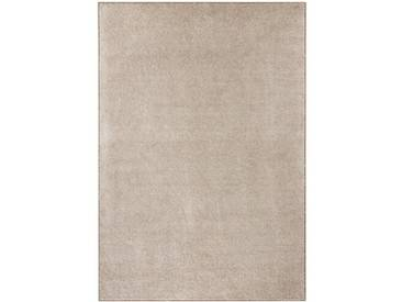 Teppich Pure in Taupe/Creme