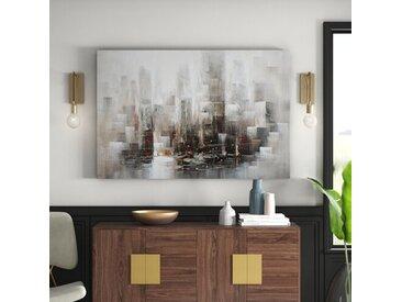 Gemälde Städte und Wolkenkratzer