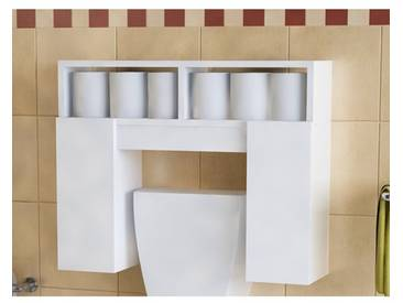 61 cm Toiletten-Regal Regena