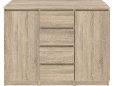 Sideboard Naia mit 2 Türen und 4 Schubladen