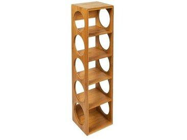 Weinregal Bamboo für 5 Flaschen
