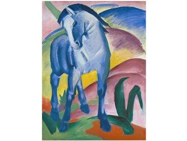 Leinwandbild Blaues Pferd I von Franz Marc