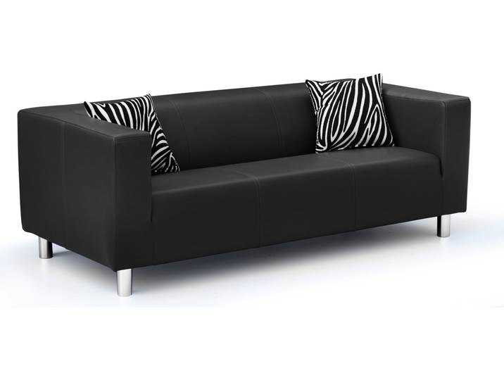 sofa mooki silber. Black Bedroom Furniture Sets. Home Design Ideas