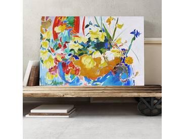 """Leinwandbild """"Stolen Roses"""" Kunstdruck von Mary Abbott"""