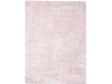 Handgefertigter Teppich Bali in Rosa