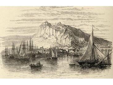 Gerahmter Kunstdruck Alicante, Spain, from Spanish Pictures von Reverend Samuel Manning, Published in 1870