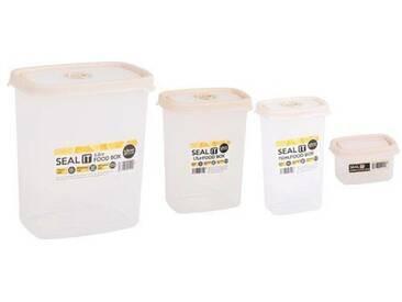 4-tlg. Frischhaltedosen-Set Seal It