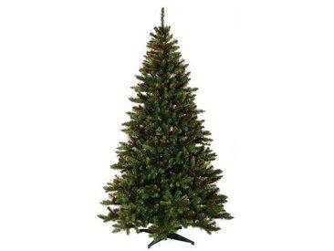 Künstlicher Weihnachtsbaum 183 cm Grün mit Ständer Carmen