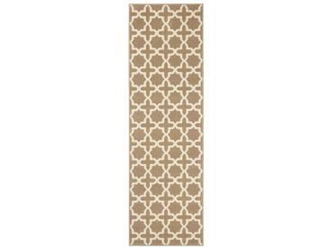 Teppich Basic in Braun