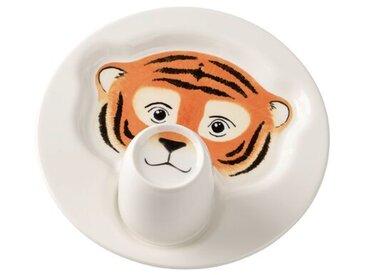 2-tlg. Kindergeschirrset Animal Friends Tiger
