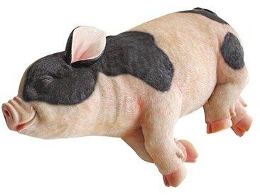Gartenstatue Schlafendes Schwein