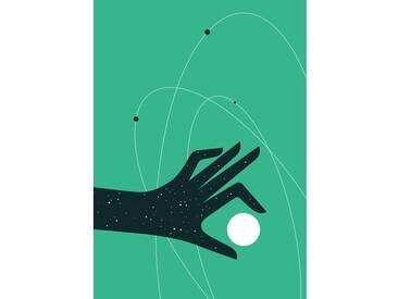Gerahmte, grafische Kunst Stardust von Paul Tebbot