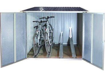 262 cm x 183 cm Fahrradgarage aus Metall