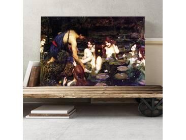 Leinwandbild Hylas and the Nymphs Kunstdruck von John William Waterhouse