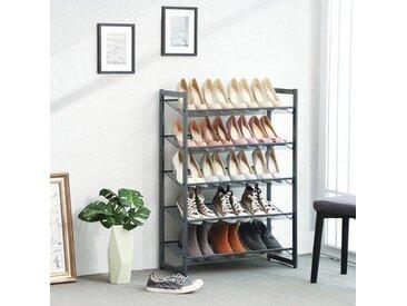 Stapelbares Schuhregal für 15 Paar Schuhe