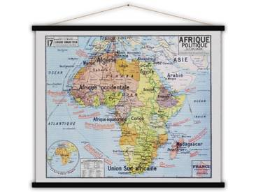 Stoffbild Afrique Politique von P. Vidal-Lablache