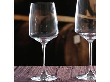 Weißweingläser-Set Vista aus Kristallglas