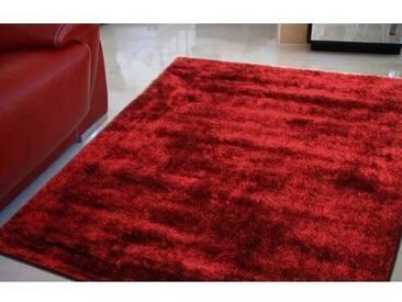 Teppich Suite Carro in Granatrot