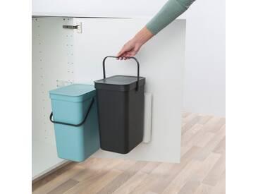 24 L Einbau-Mülleimer Sort & Go aus Kunststoff