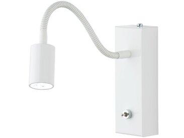 LED-Wandstrahler 1-flammig Platt
