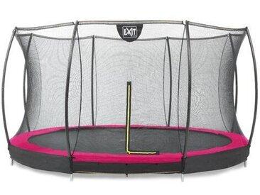 457 cm Gartentrampolin Silhouette mit Sicherheitsnetz