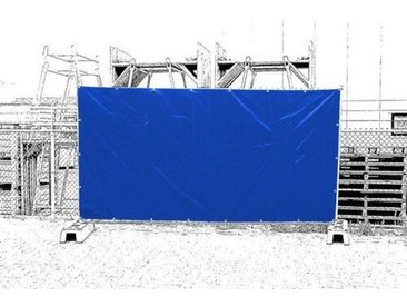 341 cm x 176 cm Balkonsichtschutz Hamby