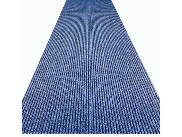 Teppichläufer Event in Blau