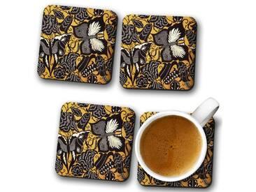 Tassenuntersetzer-Set Fabric Design